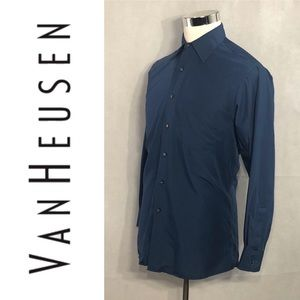 VAN HEUSEN Super Silk Ultimate Shirt M 15.5 32-33